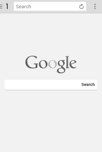 Black White Browser