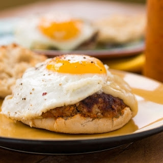 Spicy Breakfast Sandwiches with Chorizo and Egg Recipe