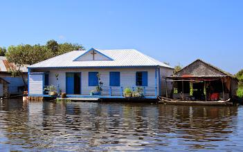 Photo: Kylässä oli myös kristillinen lähetysasema