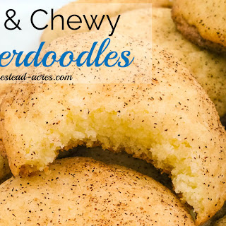 Soft and Chewy Snickerdoodle Cookies Recipe