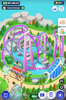 《Idle Theme Park》- 素敵なテーマパークを建てようのおすすめ画像1