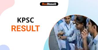 KPSC Result 2020: Karnataka PSC Result Dates, Merit List, Scorecard