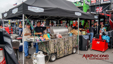 Photo: Stewart Haas Racing food wagon. There are a whole lot of people to feed on FOUR teams! https://plus.google.com/+StewartHaasRacing/posts