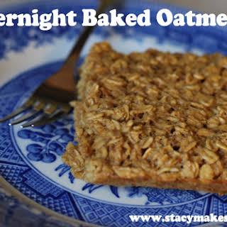 Easy Baked Oatmeal.
