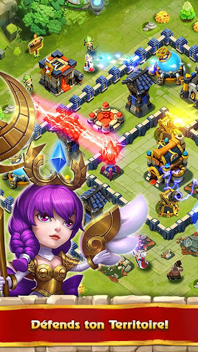 Castle Clash: RPG War and Strategy FR - screenshot