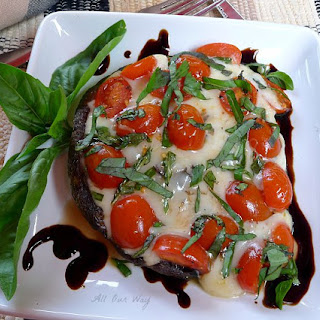 Grilled Portabella Mushroom alla Caprese