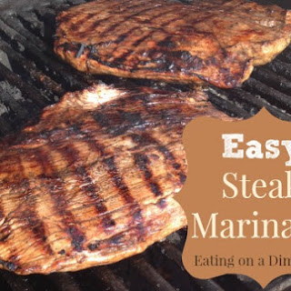 The Best Steak Marinade – only 3 ingredients!