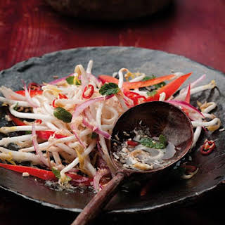 Coconut and Chili Kerabu Salad.