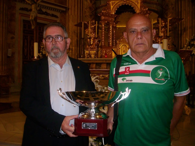 Ramón Sedeño y Piero Molducci.