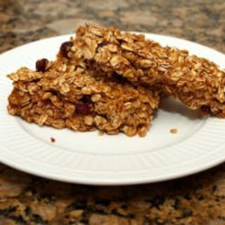 Pumpkin Cranberry Granola Bars