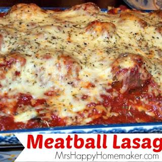 Meatball 'Lasagna'