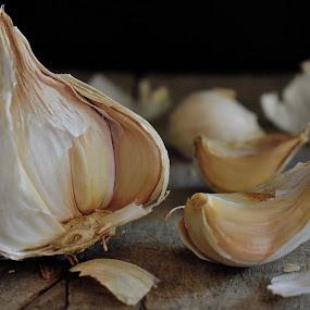 Garlic by Valentina Masten - Food & Drink Fruits & Vegetables
