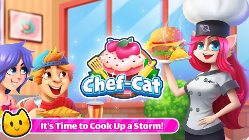 Cooking Games 🔥 Chef Cat Ava 😺 Delicious Kitchen screenshot 1