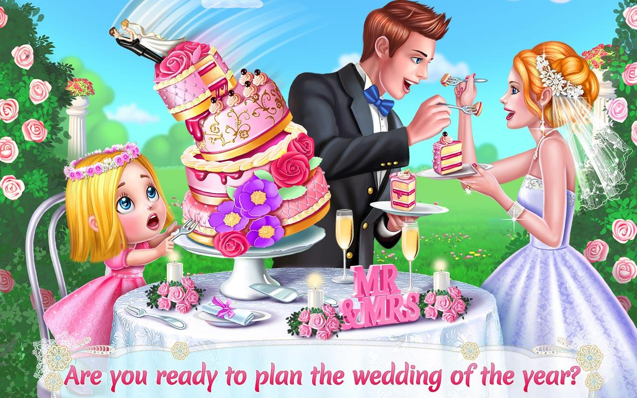 wedding planner girls game screenshot