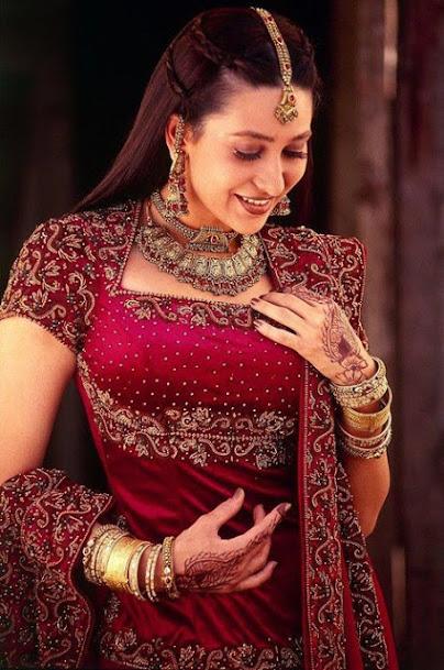 Karishma Kapoor hot, Karishma Kapoor as bride