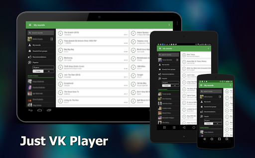Just VK Player