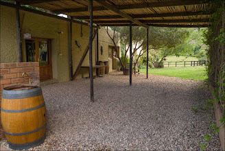 Photo: This is the outside area of our function venue adjacent to our rustic banquet hall, great for spit braai's & informal gatherings.