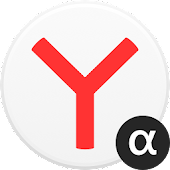 Yandex Browser (alpha) icon