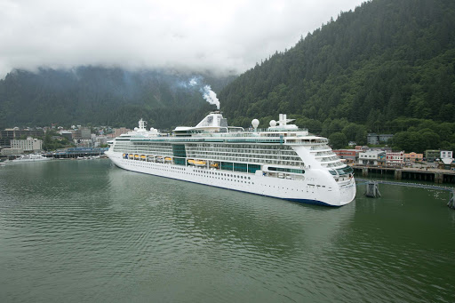 radiance-of-the-seas-in-juneau.jpg - Radiance of the Seas docked in Juneau, Alaska.