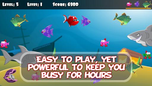 ЁЯРа Hungry Piranha & Shark Fish screenshots 1