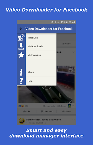 玩免費遊戲APP|下載Video Downloader For Facebook app不用錢|硬是要APP