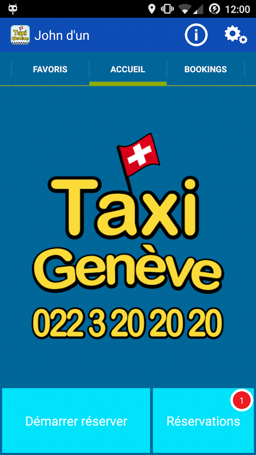 geneve taxi applications android sur google play. Black Bedroom Furniture Sets. Home Design Ideas
