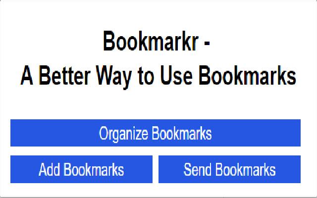Bookmarkr
