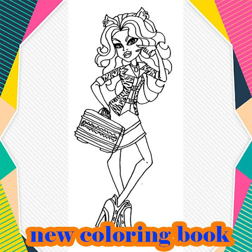 Monster High Coloring book Apk by CSC DEV SOLUTION - wikiapk com