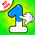 Tracing Numbers 123 & Counting Game for Kids icon