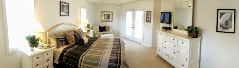Photo: HDTV in the master bedroom