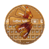 Coffee Spill GO Keyboard