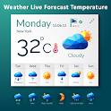 Weather Live Forecast Temperature icon