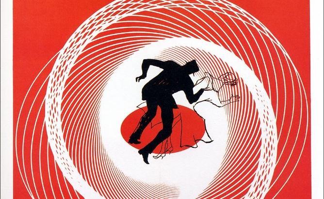 Affiche du film Vertigo, 1958.