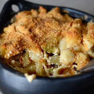 Big-Hearted Macaroni & Cheese with Artichokes.