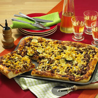 Beef Pizza.
