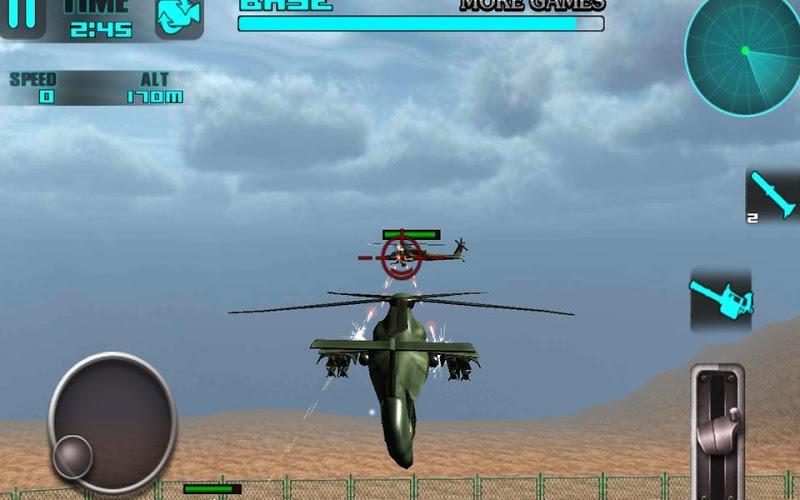 Скриншот Heli битва: 3D-игры полет