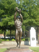 Photo: the Behold statue