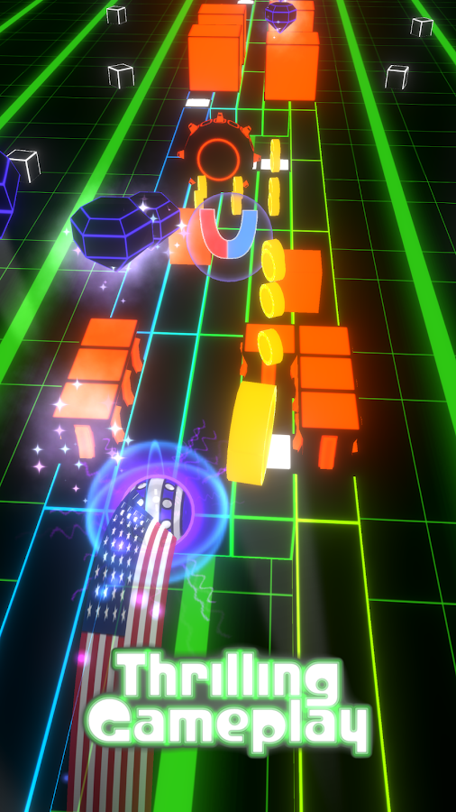 Impossible Neon Dash- screenshot