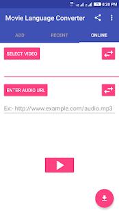 Movie Language Converter:- English to Hindi - náhled