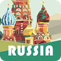✈ Russia Travel Guide Offline icon