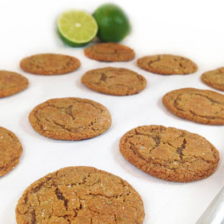 Lime Sugared Gingersnaps