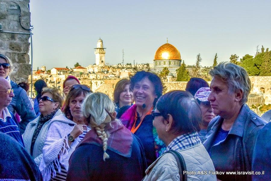 Гид в Иерусалиме Светлана Фиалкова. Экскурсия к Стене Плача.