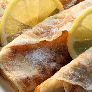 Lemon and Sugar CrêPes Recipe