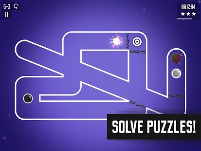 Spiral Splatter, brain-bending arcade puzzle game- screenshot thumbnail