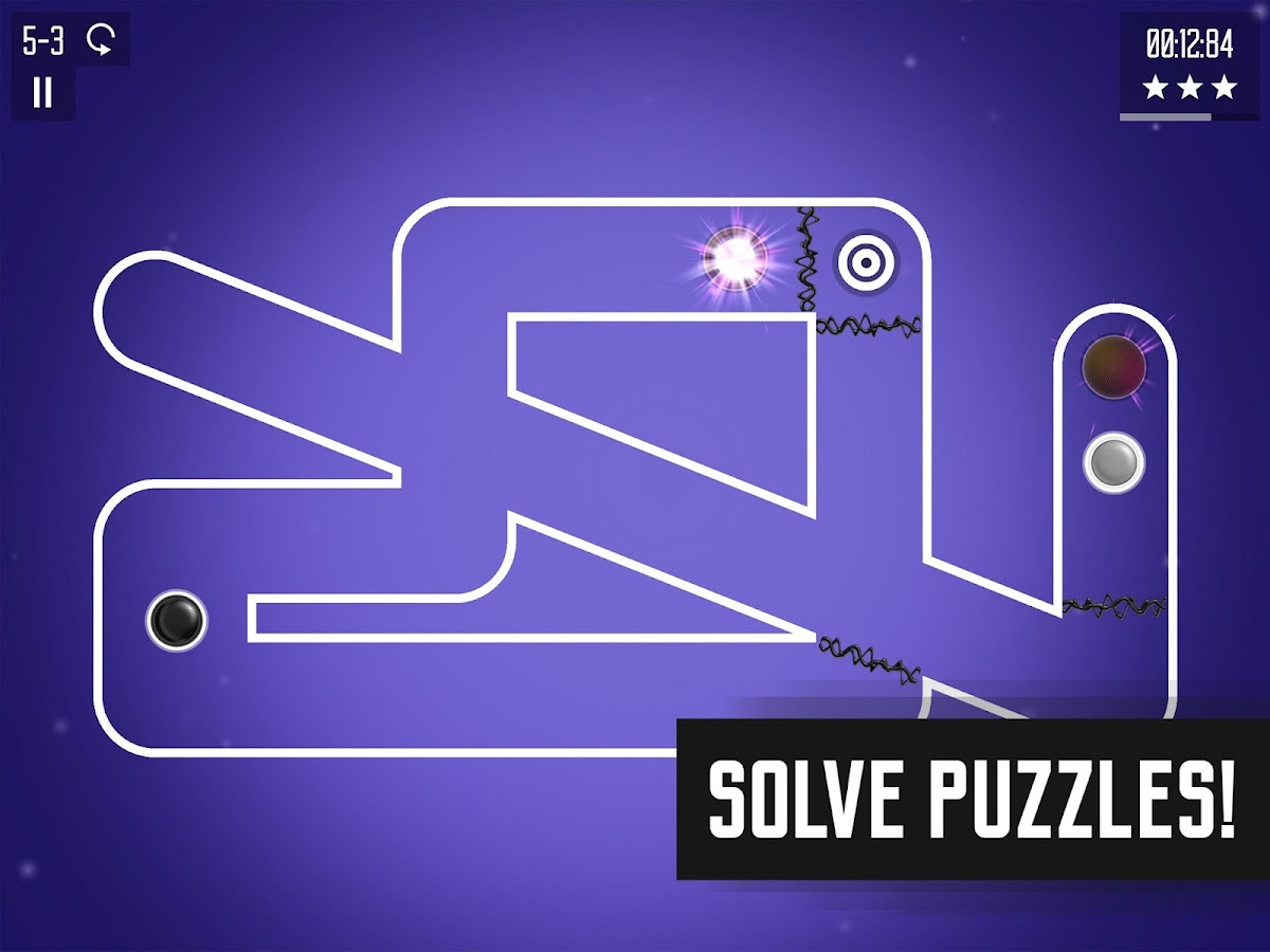 Spiral Splatter, brain-bending arcade puzzle game- screenshot