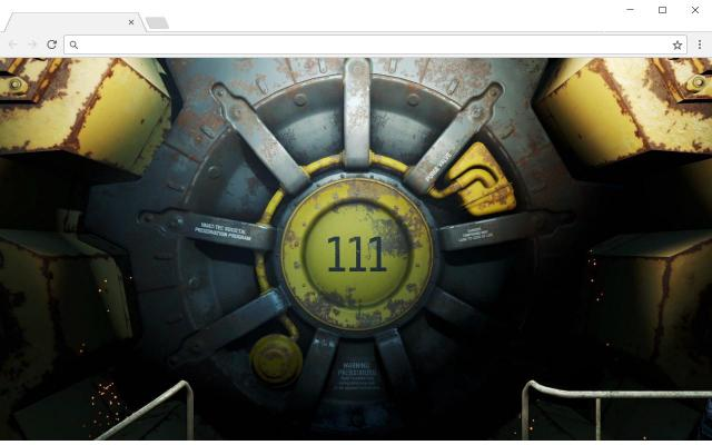 Fallout 4 New Tab for Chrome