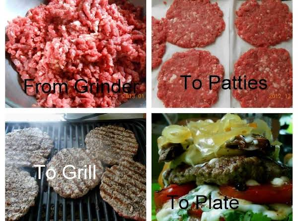 Grind Your Next Burger........ Recipe
