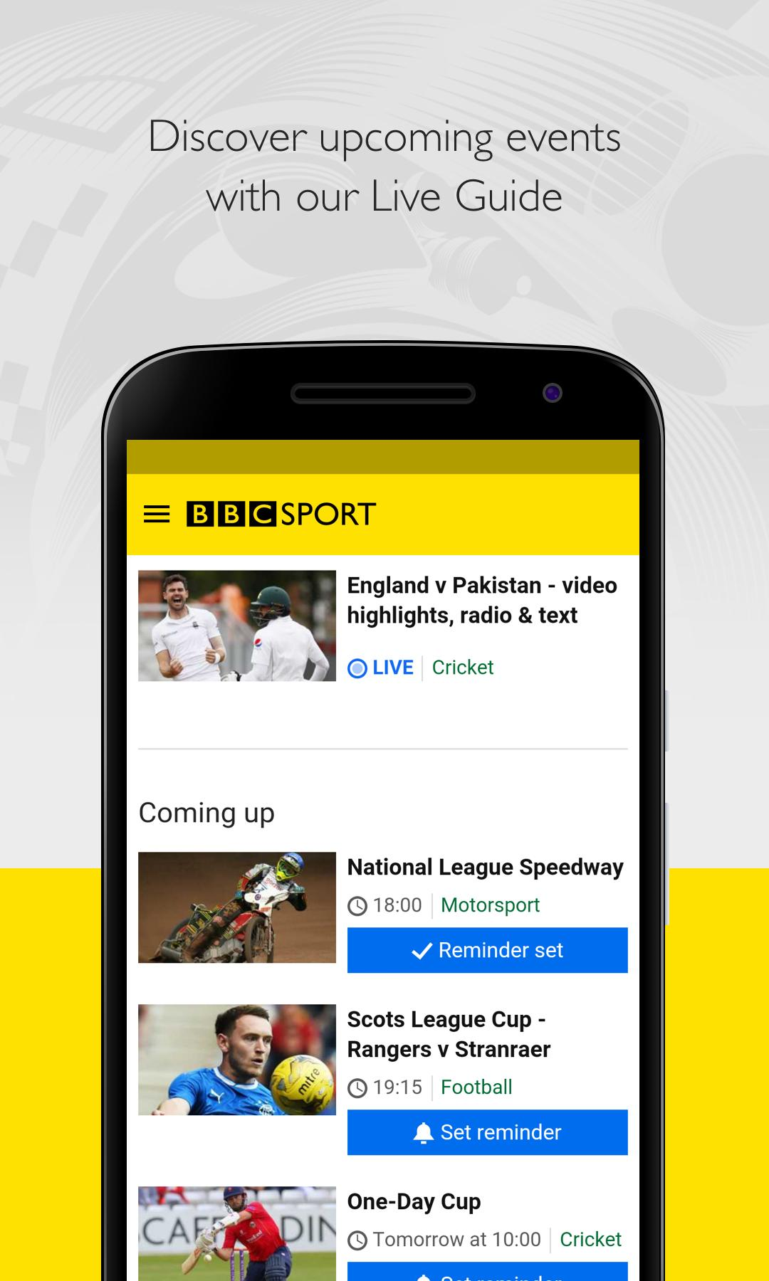 BBC Sport screenshot #5
