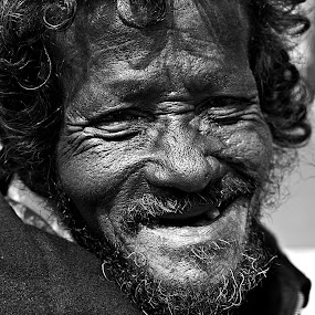 Happiness by Rana Dasgupta - People Portraits of Men
