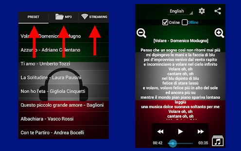 Learn Italian with Music screenshot